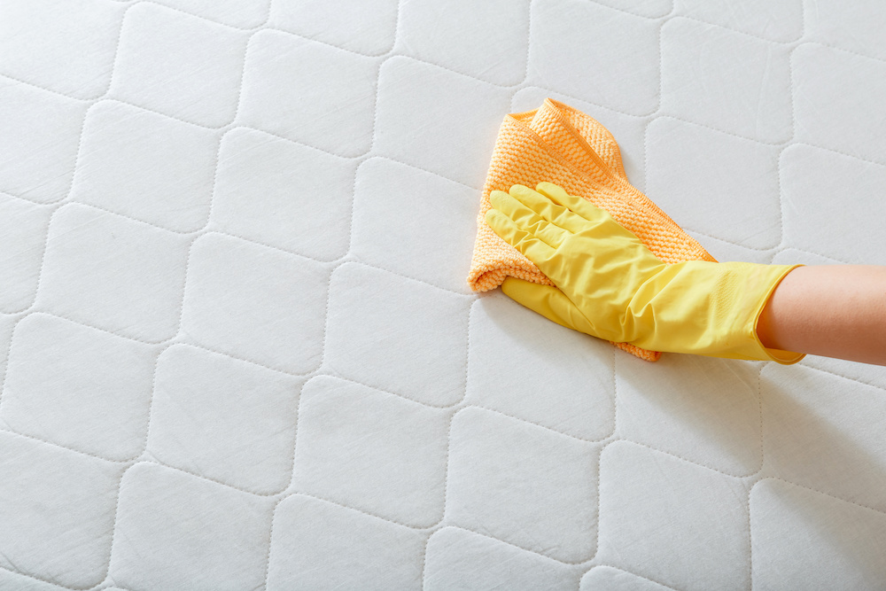 tips on how to clean blood out of a mattress